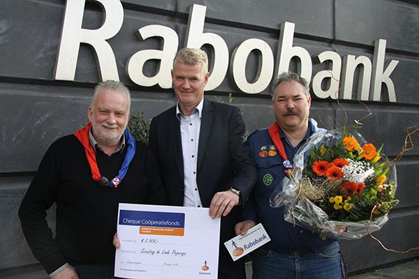 Scouting de Linde ontvangt bijdrage Rabobank Coöperatiefonds